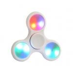 Fidget Spinner LED světelný bílá 45226