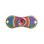 FIDGET SPINNER RAINBOW METALLIC 2 ramena barevná 45267