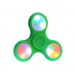 Fidget Spinner LED světelný zelená 45284