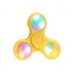 Fidget Spinner LED světelný žlutá 45443