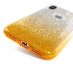Pouzdro Shining XIAOMI REDMI 5 PLUS stříbrná-zlatá 48649