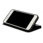 Pouzdro Vennus Book CARBON s kovovým rámem Samsung G960 Galaxy S9 černá 48861
