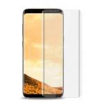 REMAX Tvrzené sklo Crystal Glass Full Cover Samsung G950 Galaxy S8, Černá, se silikonovým pouzdrem Transparentní