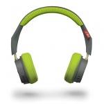 Sluchátka Bluetooth PLANTRONICS BACKBEAT 500 šedá-zelená (BLISTR)