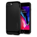 Pouzdro SPIGEN - NEO Hybrid Herringbone Iphone 7 Plus / 8 Plus - Černá Lesklá 50360