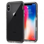 Pouzdro SPIGEN - NEO Hybrid Crystal Iphone X - Černá Metalíza 50364