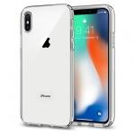 Pouzdro SPIGEN - Liquid Crystal Iphone X - Transparentní 50374