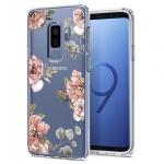 Pouzdro SPIGEN - Liquid Crystal Samsung G965 Galaxy S9 Plus - Květiny