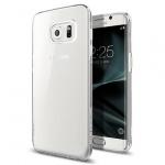 Pouzdro SPIGEN - Liquid Crystal Samsung G935 Galaxy S7 Edge - Transparentní 50390