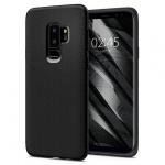 Pouzdro SPIGEN - Liquid Air Samsung G965 Galaxy S9 Plus - Matná Černá