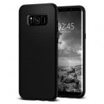 Pouzdro SPIGEN - Liquid Air Samsung G955 Galaxy S8 Plus - Černý 50404
