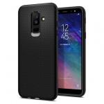 Pouzdro SPIGEN - Liquid Air Samsung A605 Galaxy A6 Plus 2018 - Černá 50407