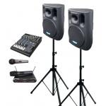 2× BC 1000A + MBD 830 + MD 505 + DMC 2220 ozvučovací sestava s mikrofony