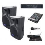 2× BC 1200 + DAC 1300 + DMC 2220 + MD 505 ozvučovací sestava