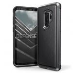 Pouzdro X-DORIA Defense Lux 3P4697A Samsung G965 Galaxy S9 Plus - Kožený Černý