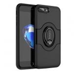 Pouzdro Ipaky Ring Iphone X černá 52344