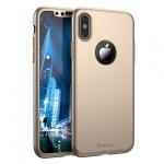 Pouzdro Ipaky Classic 360 Iphone X zlatá 52392