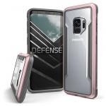 Pouzdro X-DORIA Defense Shield 3P4792A Samsung G960 Galaxy S9 - Růžová