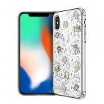 "Pouzdro X-DORIA Bloom 2C3305B Iphone X/XS (5,8"") - stříbrná"