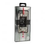 KABELKA - Snake Kožené Pouzdro - IPHONE 6 Plus/ 7 Plus/ 8 Plus bílá 53951