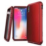 "Pouzdro X-DORIA Defense Lux 2C05C9B Iphone X/XS (5,8"") - Kůže-Červené"