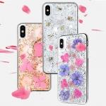 "Pouzdro X-DORIA Bloom 3C1712B Iphone XR (6,1"") - Zlatá-Růžová"