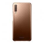 Originální pouzdro - Samsung A7 2018 Galaxy A750 - Gradace Cover (ef-aa750cfe) ZLATÝ