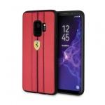 Pouzdro originál FERRARI - Hard Case Urban FESURHCS9REB - Samsung G960 Galaxy S9 červená