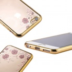 Pouzdro Forcell DIAMOND Samsung Galaxy A20e zlatá 56421219