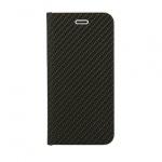 Pouzdro Vennus Book CARBON s kovovým rámem Xiaomi Mi 8 Lite černá 56921