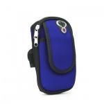 Sportovní pouzdro na ruku Sport armband FULL CLOSE (18x12x4cm) modrá 5901737918925