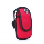 Sportovní pouzdro na ruku Sport armband FULL CLOSE (18x12x4cm) červená 5901737918932