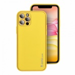 Pouzdro Forcell LEATHER Case Xiaomi Redmi Note 10/10S žlutá 5903396111525
