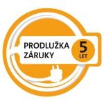 Prodloužená záruka 5 let, (po registraci na www.eta.cz/prodluzka)