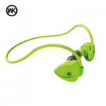Sluchátka WK-Design Bluetooth Earphone Stereo BD600 zelená