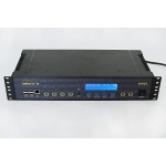 Školní hodiny SIRIUS 2 s MP3, DCF/GPS, černá 8457899
