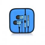 Sluchátka METALLIC modrá 90874