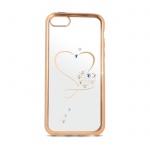 Pouzdro Beeyo Heart Huawei P10 (vtr-l09) zlatá