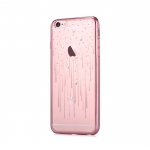 Pouzdro Crystal (Swarovski) Meteor iPhone 6 6S rose gold - sccom.cz 01c46beea69