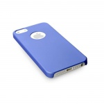 Pouzdro DEVIA Rubber iPhone 5S/5/SE blue