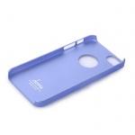 Pouzdro DEVIA Rubber iPhone 5S/5/SE blue