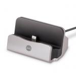 Nabíječka stolní IPHONE 5/6 FOREVER DS-01 stříbrná
