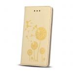 Pouzdro Book Magnet STAMP HUAWEI Y6 II zlatá vzor 2