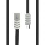 Datový kabel Wave Beeyo microUSB černá 26870