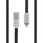 Datový kabel Wave Beeyo Apple iPhone 5/5S/6/6S/SE černá 26872
