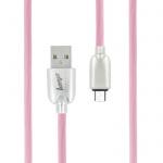 Datový kabel Trendy Beeyo microUSB růžová 26874