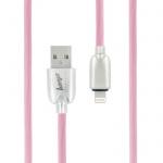 Datový kabel Trendy Beeyo Apple iPhone 5/5S/6/6S/SE růžová 26876