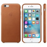 iPhone 6S Leather Case Saddle Brown, MKXT2ZM/A