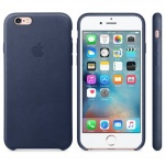 iPhone 6S Leather Case Midnight Blue, MKXU2ZM/A
