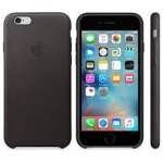 iPhone 6S Leather Case Black, MKXW2ZM/A
